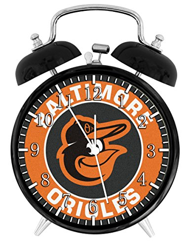 Orioles Alarm Desk Clock Home Office Decor F37 Nice For Gifts