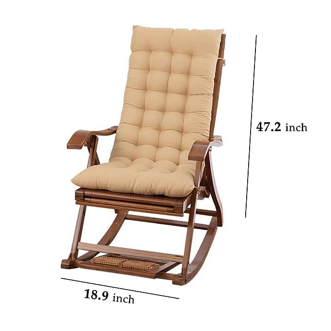 Amazon.com: Tumbona para patio, cojín para sofá, cojín de ...