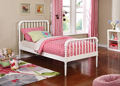 Coaster Home Furnishings 400415T Panel Bed, White