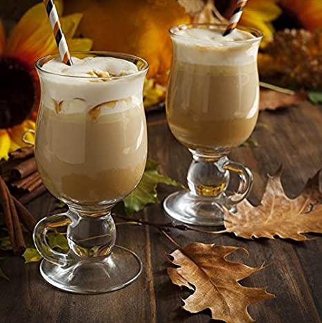 Pasabahce 44159 - Juego de 6 vasos de café irlandés, ponche, vino caliente, chocolate caliente