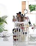 Makeup Organizer, 360 Degree Rotating Adjustable