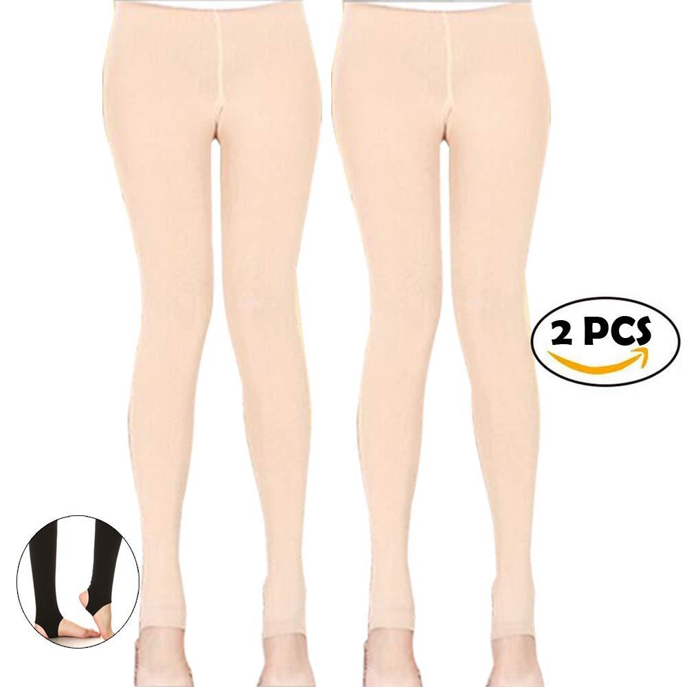 Women Girl Winter Thick Warm Pantyhose Slim Stretch Stirrup Tights