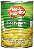 Beit Hashita Hot Peppers, 18 Ounce (Pack of 12)