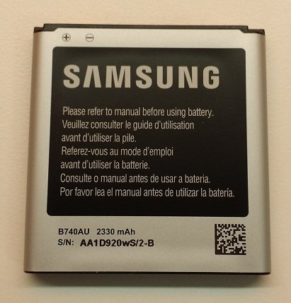OEM Samsung B740AU Battery for the at&t Samsung Galaxy S4 Zoom SM-C105A (2330 mAh)  samsung zoom | Samsung Galaxy K Zoom Review! 51j9sHDf8vL