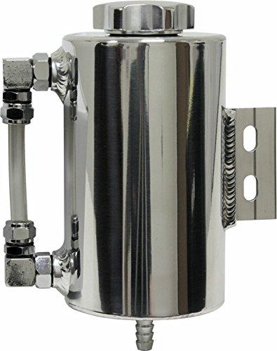 Universal Aluminum Power Steering Overflow Tank - (Aluminum Power Steering Tank)