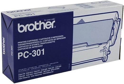 Genuine Brother PC-301 PC301 750 770 775 870MC Fax Film Ribbon Cartridge