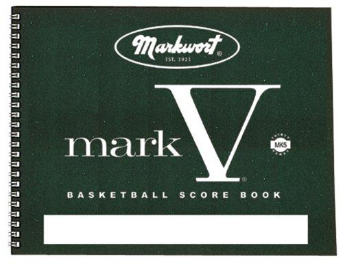 Markwort Mark V Basketball Scorebook 30 -