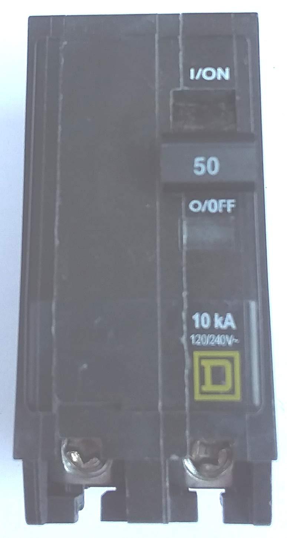 Sq D QO250 50A 2P 240V plugin Circuit Breaker