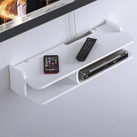 Amazon.com: Floating Shelf Wall Shelf Wall-Mounted TV ... on