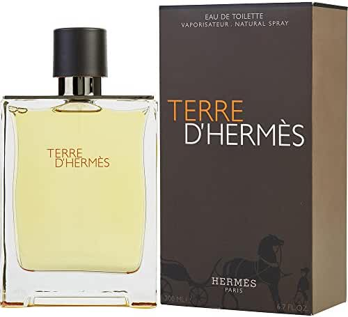 TERRE D'HERMES by Hermes EDT SPRAY 6.7 OZ for MEN ---(Package Of 2)