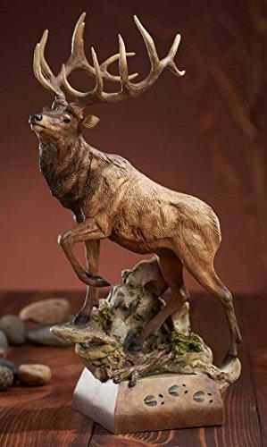 Elk Statue (Hoofin It - Elk Sculpture by Danny Edwards)