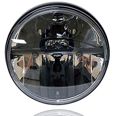 GENSSI LED Dual Projector Headlights For Harley Road Glide 1998-2013