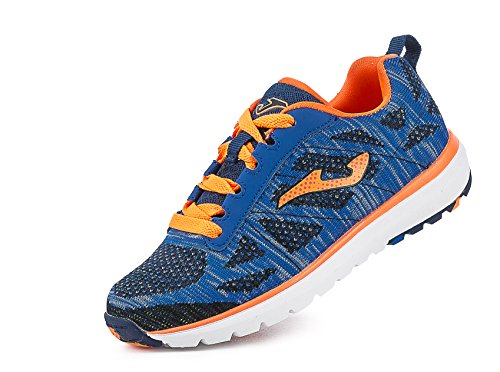 JOMA J.ALASKA JR 604 BLUE-ORANGE FLUOR 37