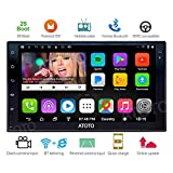 [2017NEW] ATOTO A6 2DIN Android Car Navigation Stereo with Dual Bluetooth & 2A Charge -Premiun A61721P 2G/32G Car Entertainment Multimedia Radio,WiFi/BT Tethering internet,support 256G SD &more