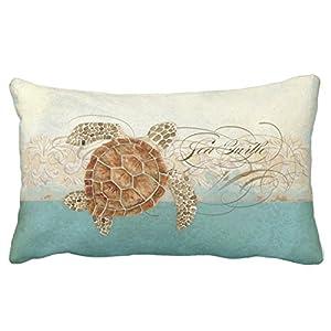 51j9v6k230L._SS300_ Coastal Throw Pillows & Beach Throw Pillows