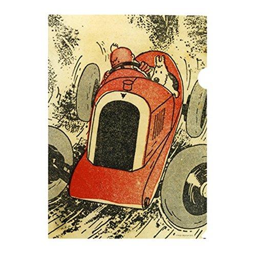 15174 Moulinsart A4 Plastic Folder Tintin Le Petit Vingti/ème Cigars of The Pharaoh