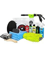 Chemical Guys Wash Foam Arsenal Builder Kit Car Bucket 16 Blaster Gift – Torq 6 Truck Lovers Dads DIYers Auto Accessory