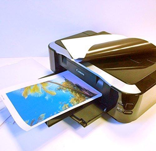 Magnetfolie Fotopapier Magnetpapier für Fotodruck  weiß matt  DIN A4-5 Stück