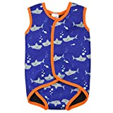 Splash About Kids' Wrap Neoprene Wetsuit - Shark Print, 6-18 Months