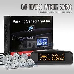 Amazon.com: Kit de sensores de aparcamiento traseros de ...