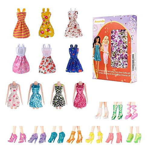 Avando 20PCS Doll Accessories, 1...