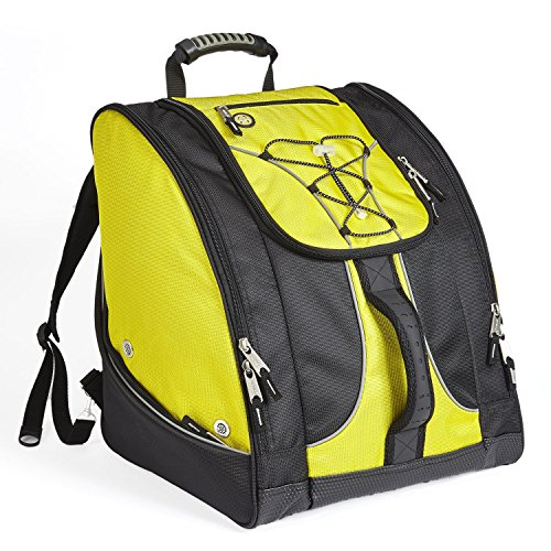 Athalon Everything Boot Bag/Backpack - SKI - Snowboard - Holds Everything (Yellow/Black)
