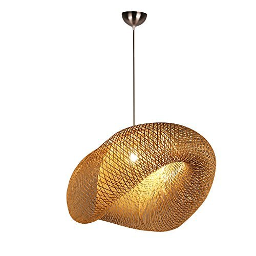 Pendant Lighting With Seagrass Shades in US - 5