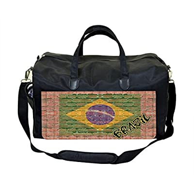 eed133d7939a4b low-cost Brazil Brick Wall Weekender Overnighter Bag - polyvi.be