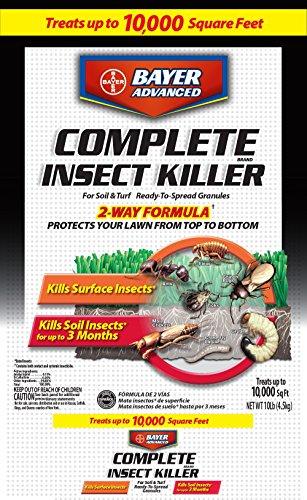 (Bayer Advanced 100533022 Complete Insect Killer for Soil & Turf Granules Black )