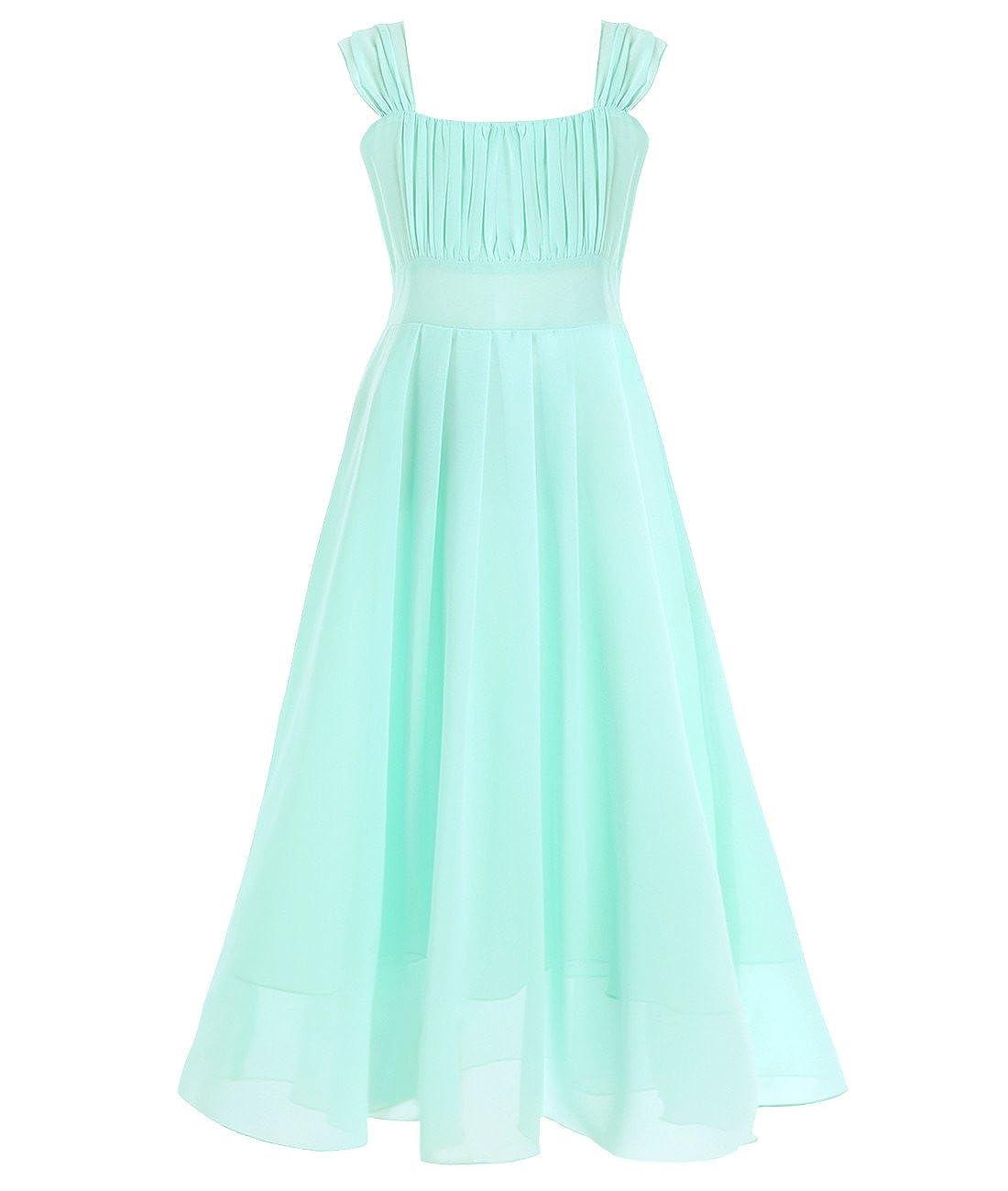 YiZYiF Festlich Mädchen Kleid für Kinder Kleidung Prinzessin