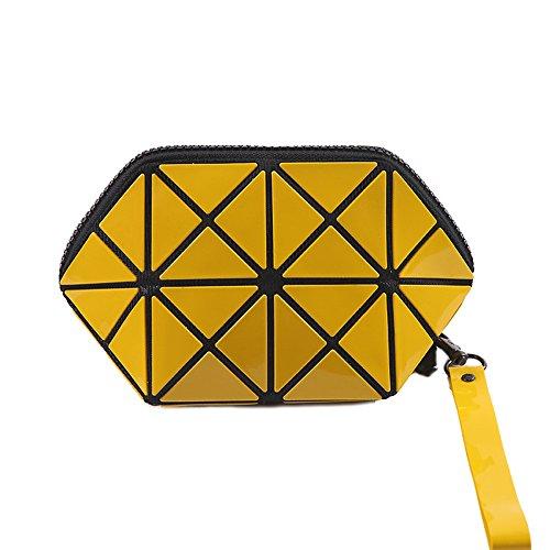 Treillis Porte Diamant à KYOKIM Sac Stockage Mesdames monnaie Loisirs Embrayage Femmes Yellow Multifonctionnel Sac Cosmétique Petit Main tIwwfTqSx