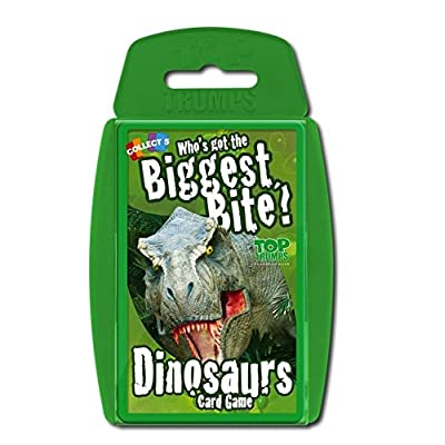 Dinosaurs Top Trumps Card Game | Educational Card Games: Toys & Games