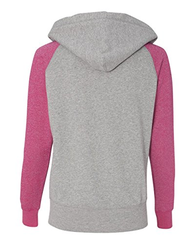 J. America Women's Glitter Sportswear Set, XX-Large, Wildberry/Oxford