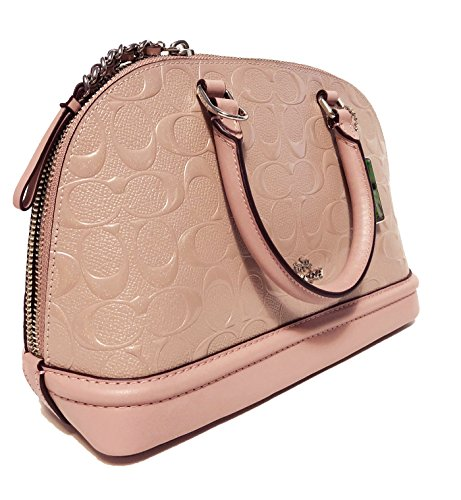 Coach Mini Inclined Shoulder Sierra Women��s Satchel Shoulder Purse Blush Handbag AqPUwAxrnX