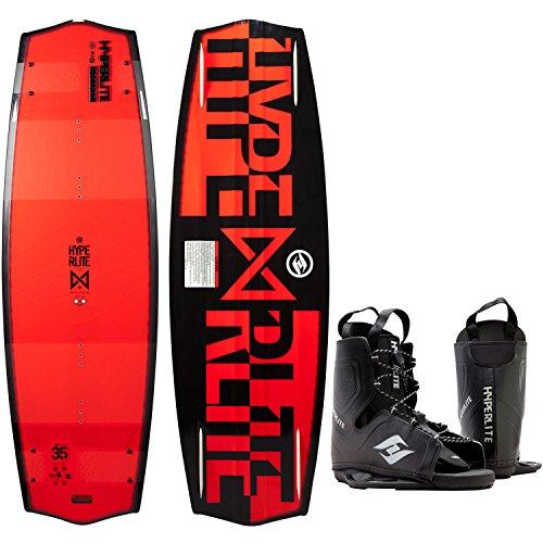 Hyperlite Marek Bio Wakeboard Mens 135cm + Hyperlite Bindings O/S 8-12