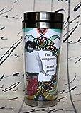 Holy Crap! Erin Smith Art Travel Mugs - 16 oz. Stainless Steel (Dangerous)