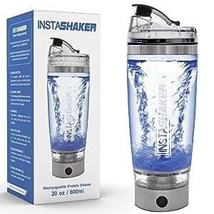 Amazon Com Instashaker Protein Shaker Bottle Electric