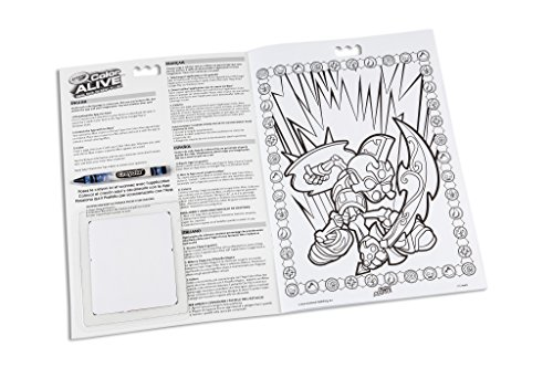 crayola color alive action coloring pages skylanders amazoncouk toys games - Crayola Color Alive Special Pages