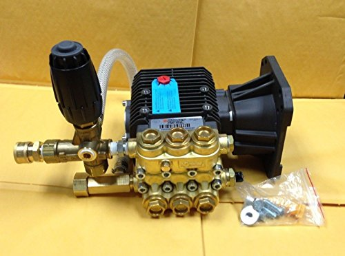 Comet Zwd 4040G 4GPM Pressure Washer Pump Assembly 4000PSI With Unloader (Unloader Assembly)