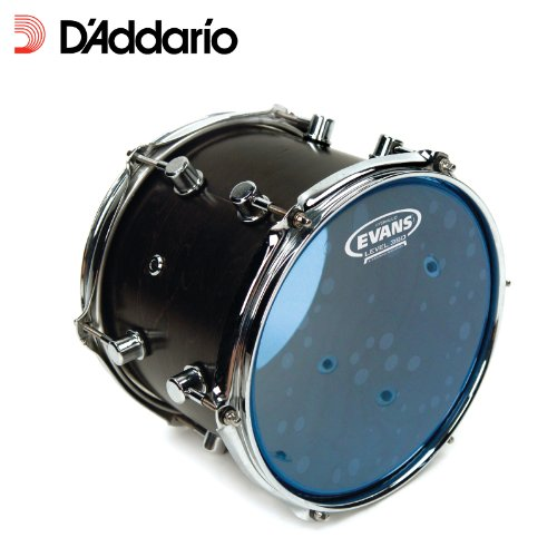 Evans Hydraulic Blue Drum Head, 12 Inch