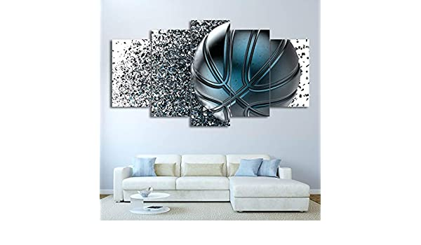 Lona Moderna HD Impreso Wall Art Pictures 5 Unidades Deportes ...
