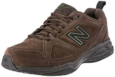 New Balance Men's 624 Brown Suede Sneakers EU 50, 15 US