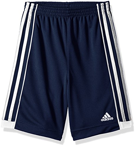 Adidas Boys' Little Replen Active Mesh Short, Collegiate Navy, 7X