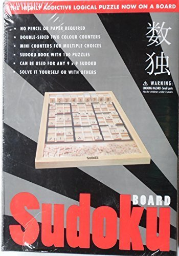 Sudoku Wooden Board Puzzle game