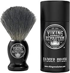 Badger Hair Shaving Brush- Shave Brush f...