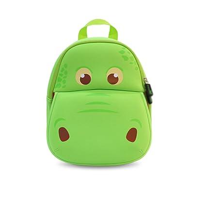 Amazon com | Nohoo 3D Hippo Kids Backpack Tyrannosaurus