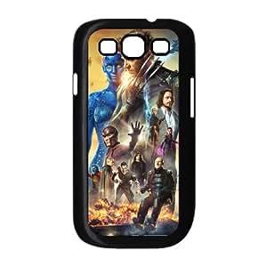 X Men Days Of Future Past 3 funda Samsung Galaxy S3 9300 caja funda del teléfono celular del teléfono celular negro cubierta de la caja funda EEECBCAAL08835