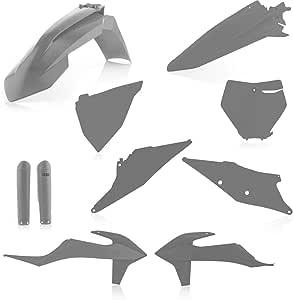 Acerbis Black Plastic Kit KTM 2007-10 125//200//250//300//450//505//530 SX SXF XC XCW