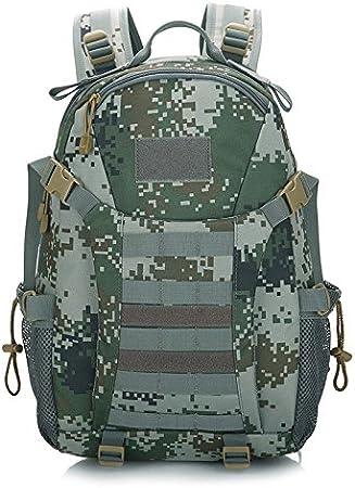 SQI Mochila de combate Tiger spot 3D outdoor montañismo bolso de combate especial dispensación Battle Pack tour rush pack mochila de Estudiante,07 digital,default: Amazon.es: Deportes y aire libre