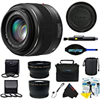 Panasonic Leica DG Summilux 25mm f/1.4 ASPH Micro 4/3 Lens + Pixi-Pro Accessory Bundle